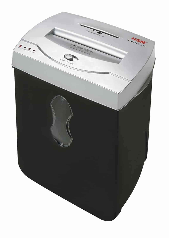 Aktenvernichter Genie 580 XCD bis zu 10 Blatt Partikelschnitt Shredder weiß