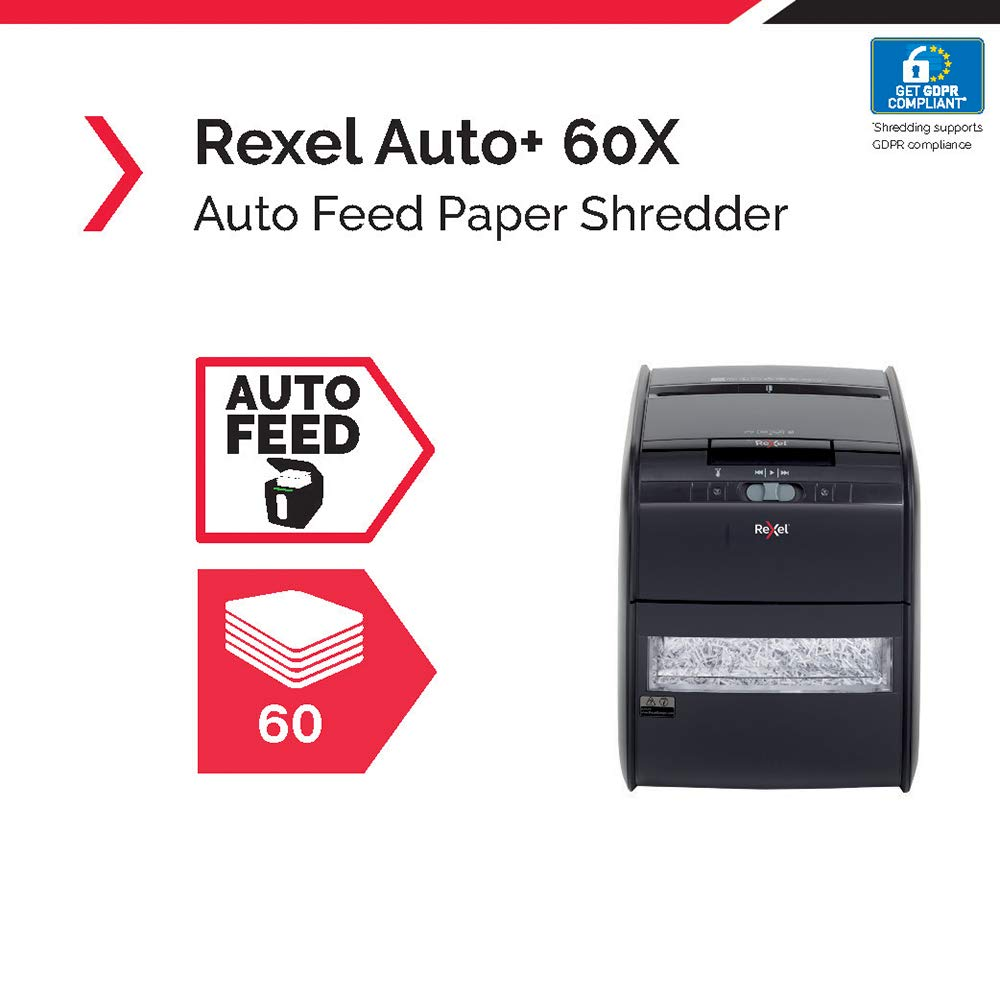 Rexel 2103060 Auto + 60X shredder test