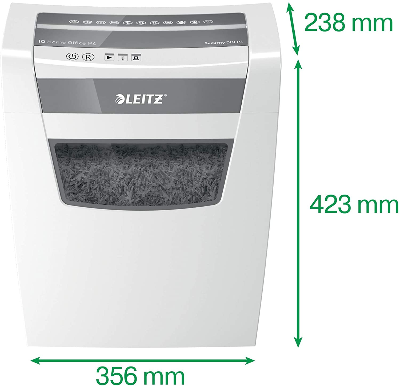 Leitz 80090000 IQ Home Office Aktenvernichter test