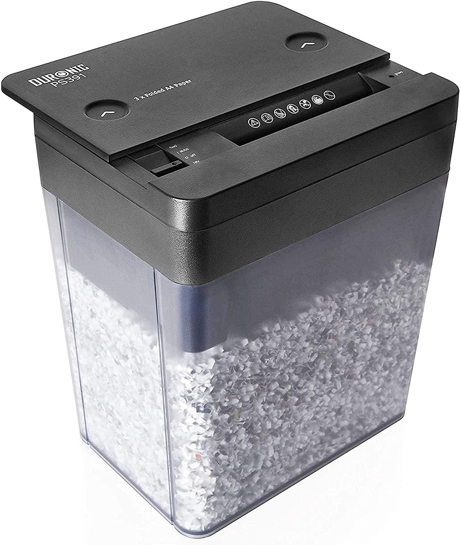 Duronic PS391 kompakter Aktenvernichter