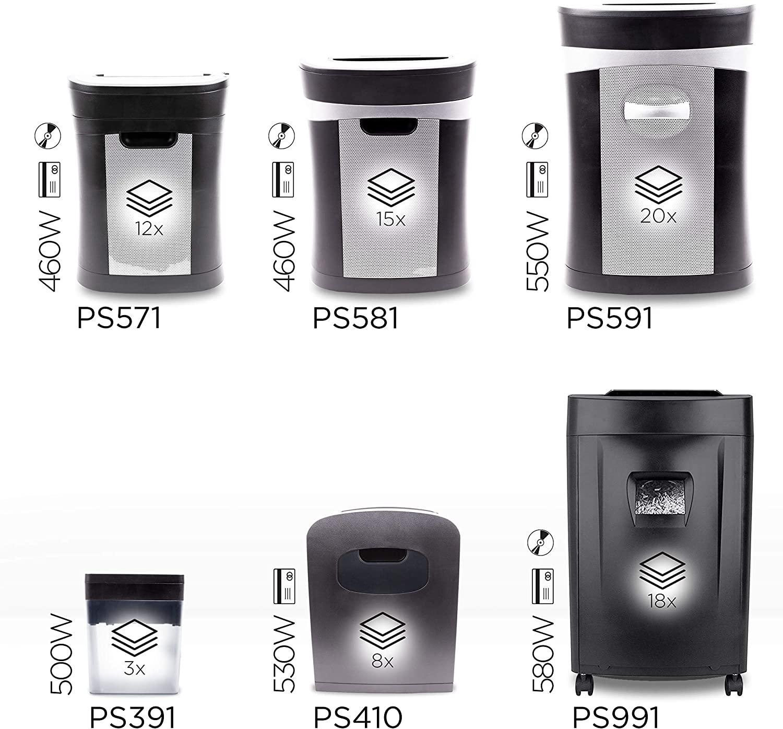 Duronic PS391 kompakter Aktenvernichter test