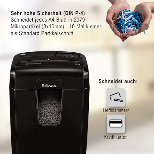 Fellowes Microshred Aktenvernichter 8Mc test