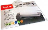 Peach PS100-00 Aktenvernichter Service Kit | 12 Ölpapiere